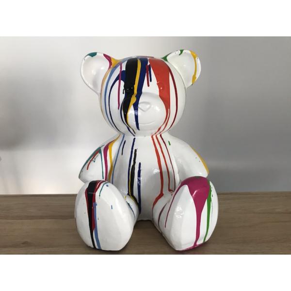 statue résine ourson Teddy Bear