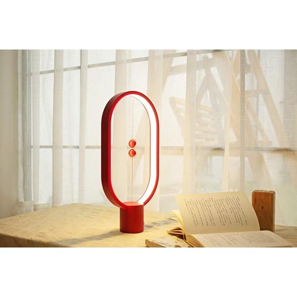Lampe magnétique Heng Balance Rouge